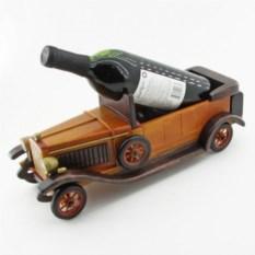Подставка для вина в виде ретромашины