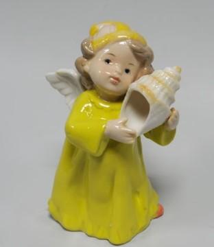 Статуэтка «Ангелочек с ракушкой»