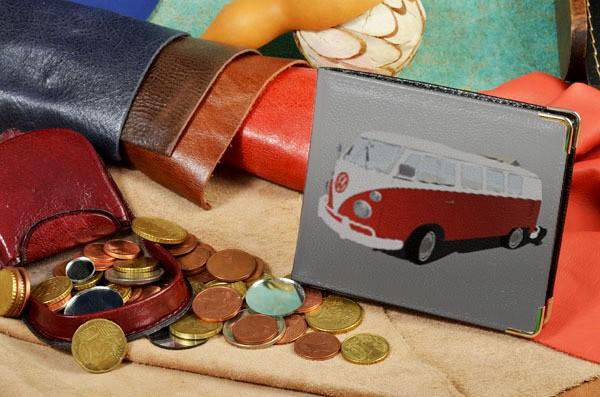 Портмоне с принтом Elole Design Ретро-автобус