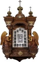 Домашний серебряный иконостас Господь Вседержитель