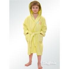 Детский халат Bambino Cleanelly (цвет: желтый)