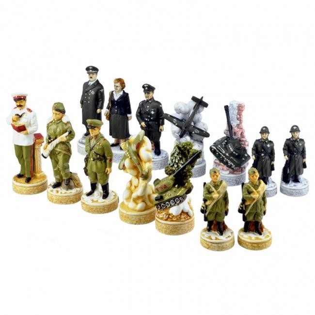 Шахматные фигуры Вторая мировая война