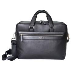 Черный кожаный портфель Cross Nueva FV