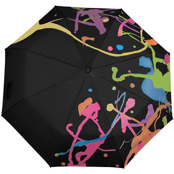 Зонт «Раскрась осень (кляксы)»