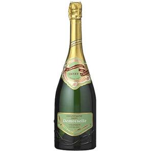 Шампанское белое сухое Demoiselle.  0,75 л.