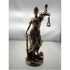 Декоративная фигурка Фемида – богиня правосудия