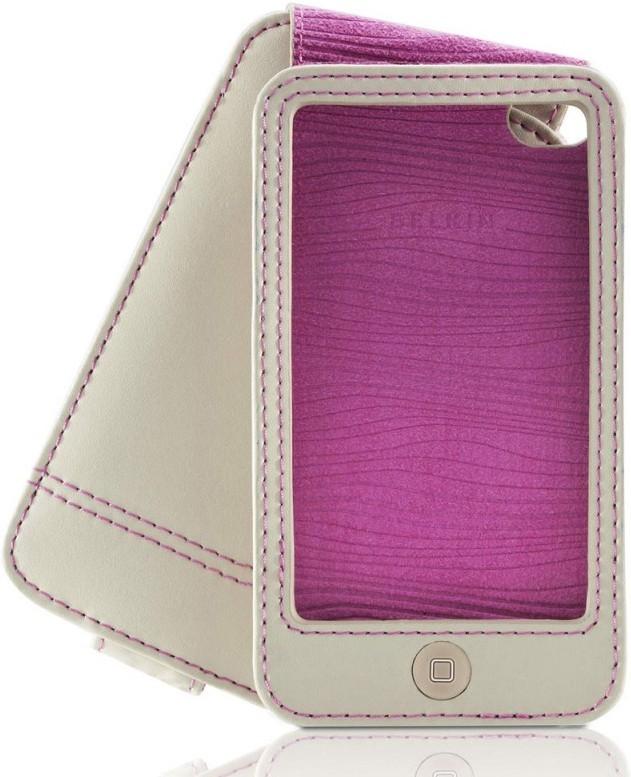 Чехол Belkin Verve Folio для iPod touch 4G, Grey-Pink