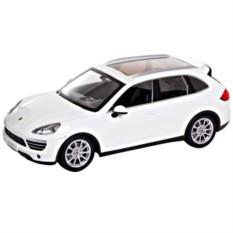 Белая радиоуправляемая машина Porsche Cayenne