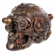 Шкатулка в стиле Стимпанк «Techno Skull»