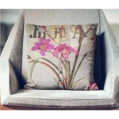 Декоративная наволочка Винтаж: Лилия в саду