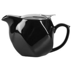 Черный заварочный чайник «Эстет»