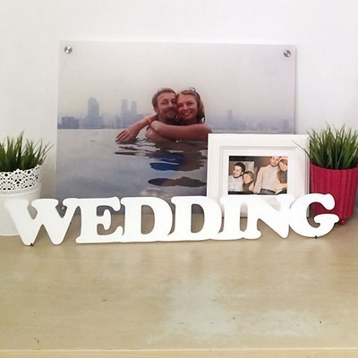 Декоративное слово Wedding
