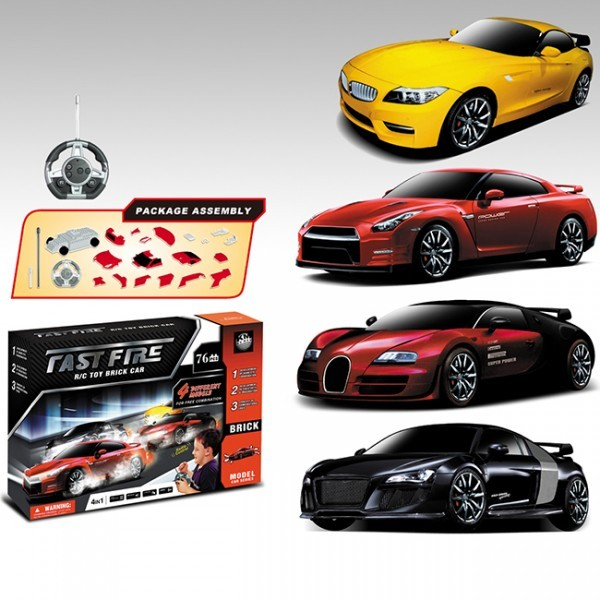 Радиоуправляемый конструктор BMW, Nissan, Bugatti и Audi