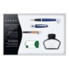 Набор Cross: перьевая ручка, конвертер, 3 картриджа, чернила