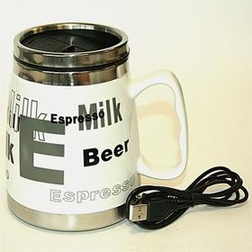USB-Кружка Milk white