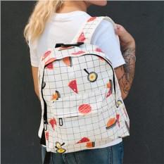 Рюкзак в клеточку Еда