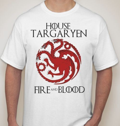 Мужская футболка House Targaryen