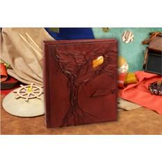 Большой коричневый фотоальбом коллекции M.Studio