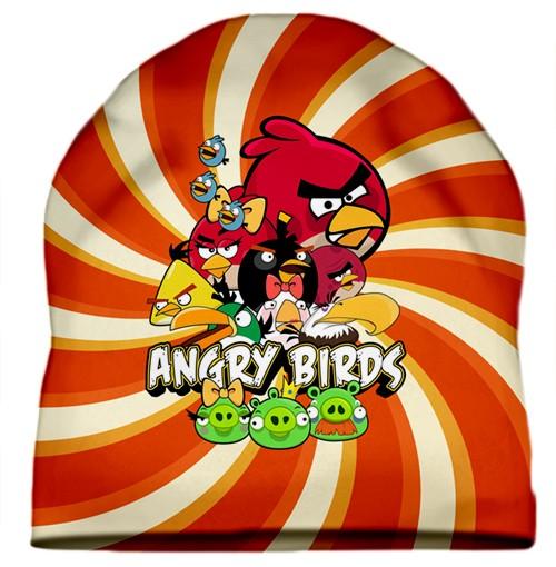 Шапка с 3D печатью Angry Birds