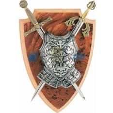 Панно Мини-меч Эскалибур, мини-меч Тизона Д'Сида