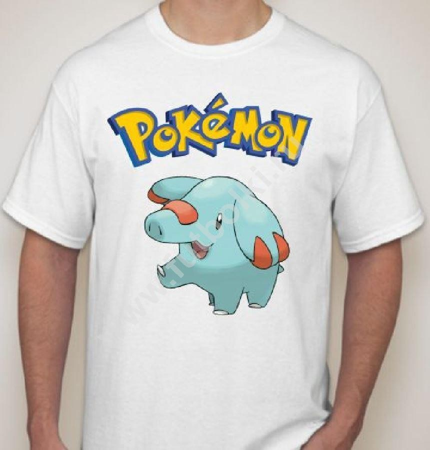 Мужская футболка Pokemon Слоник
