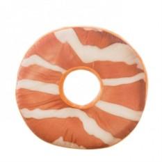 Подушка Карамельный пончик с глазурью