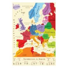 Скретч-карта Europe