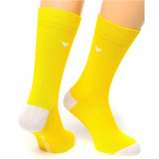 Желтые носки Friday Heel