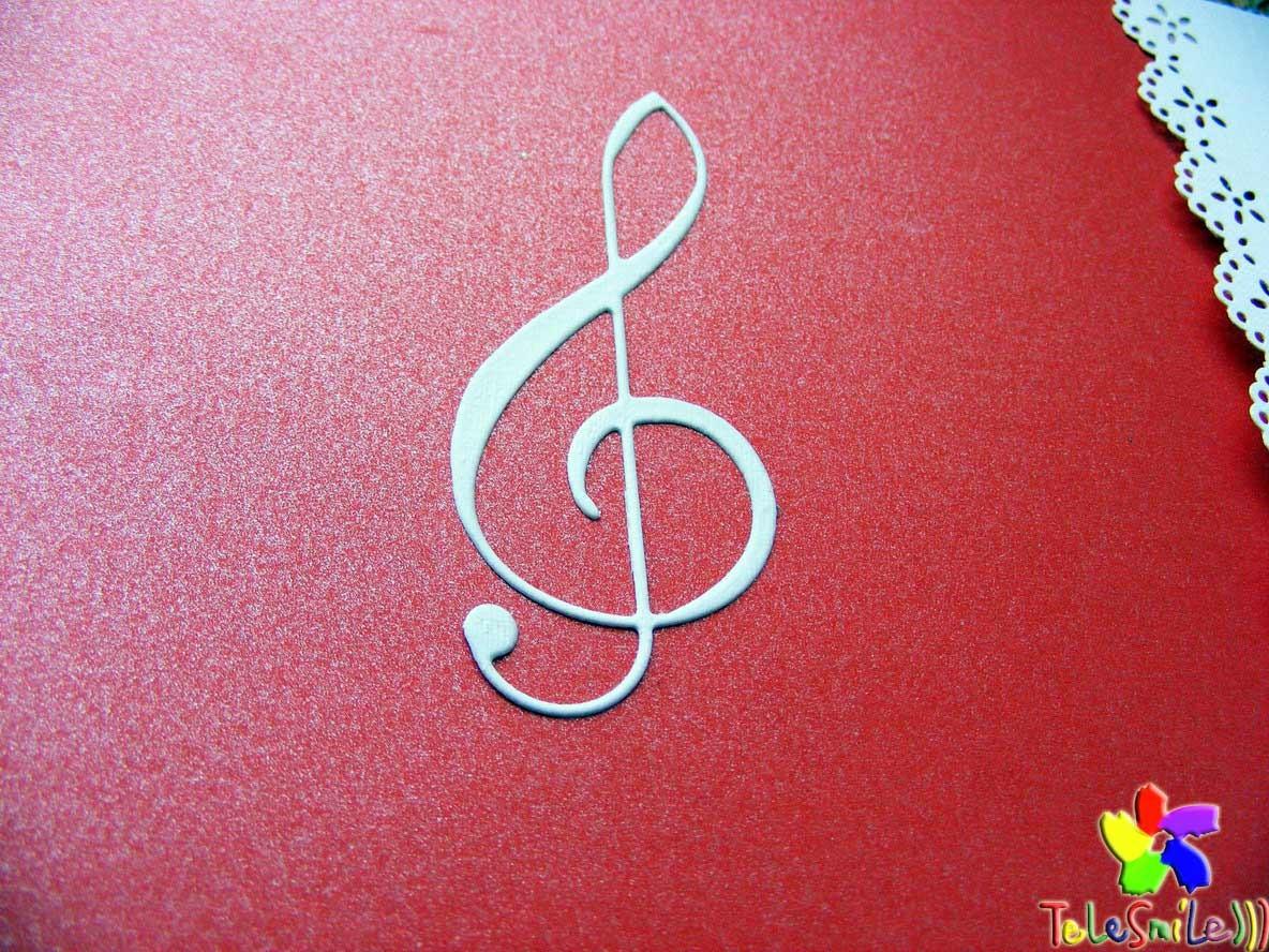 Музыкальная Бизнес открытка (корпоративные открытки)
