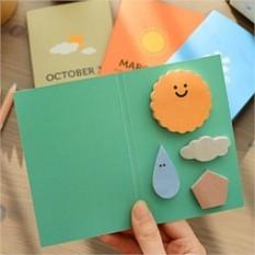 Бумага клейкая для заметок Weather