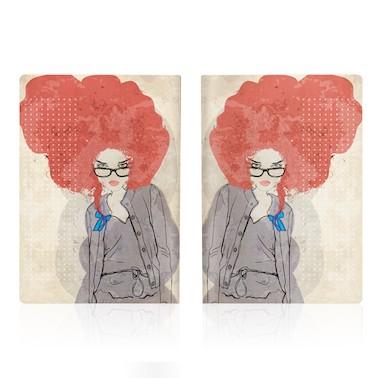 Обложка для паспорта Art girl