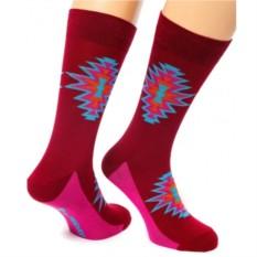 Бордовые носки Antique Friday