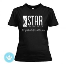 Женская футболка Star Lab
