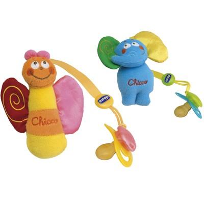 Прищепка для пустышки с игрушкой CHICCO