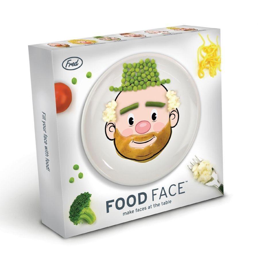 Детская тарелка Mr food face