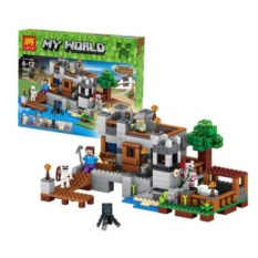 Конструктор Lele Minecraft Береговая цитадель
