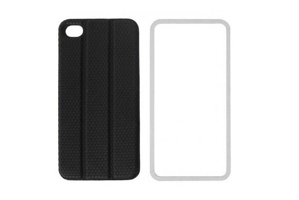 Чехол TidyTilt Design smart-cover для iPhone 4/4s, черный