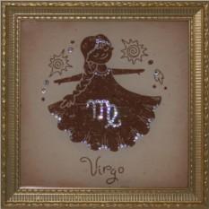 Картина с кристаллами Swarovski Дева