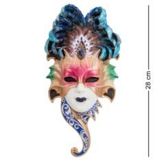 Разноцветная венецианская маска Сова