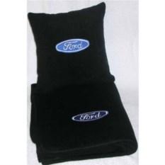 Черный плед Ford