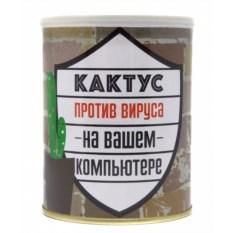 Набор для выращивания Кактус против вируса