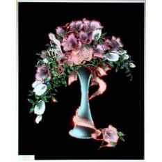 Картина с кристаллами Swarovski Праздничный букет