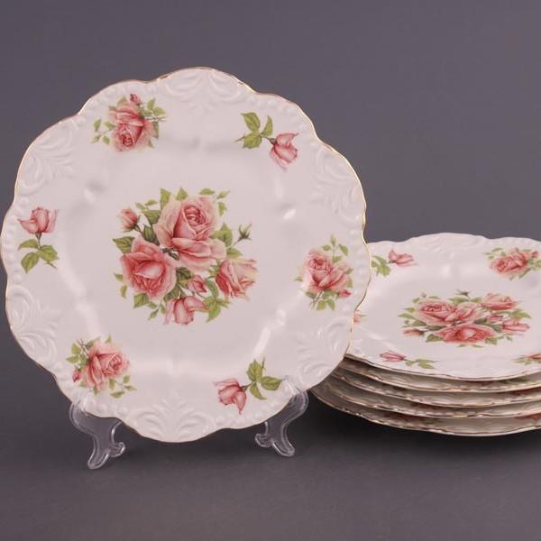 Набор тарелок Розы