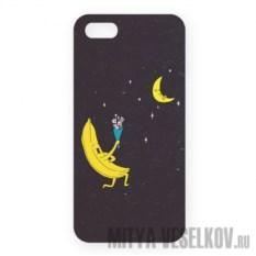 Чехол для IPhone 5 Влюбленный банан