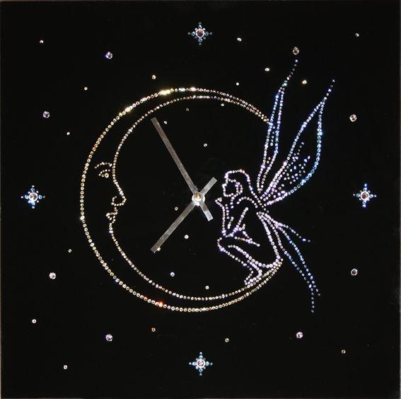 Часы с кристаллами сваровски Время чудес