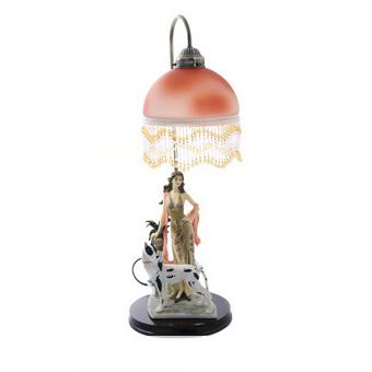 Светильник с плафоном «Дама»