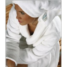 Элитный махровый халат Microcoton от Mirabello