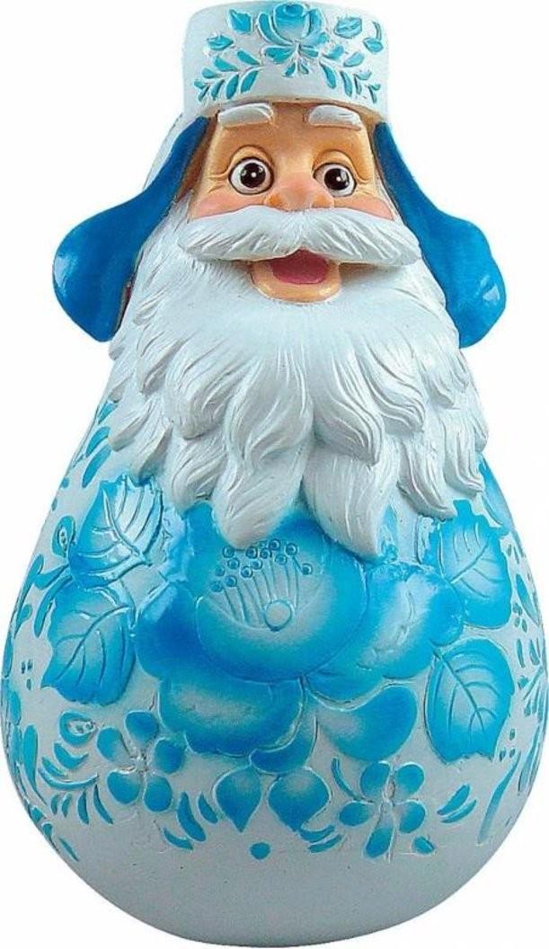 Новогодняя неваляшка Дед Мороз