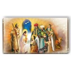 Шоколадная открытка «Рождественское чудо»