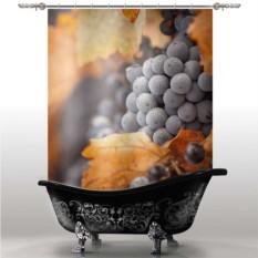 Шторка для ванны Виноград